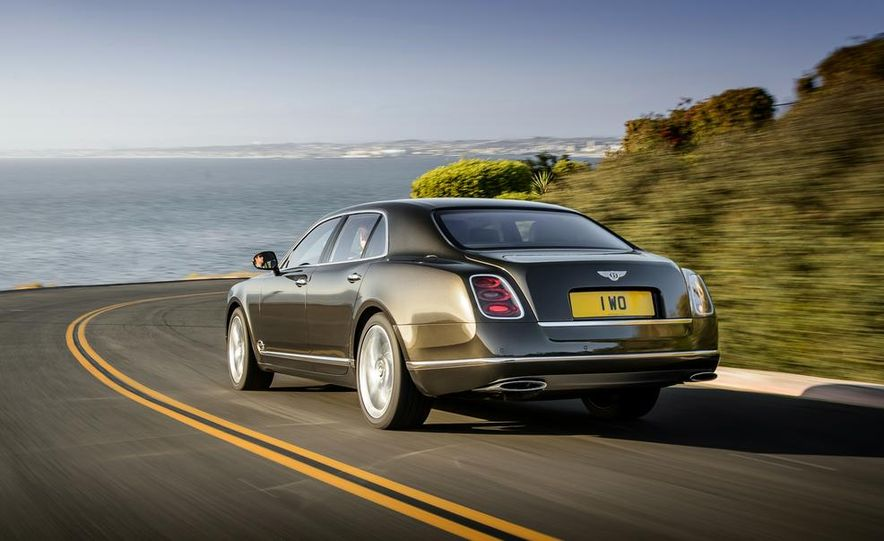 2015 Bentley Mulsanne Speed - Slide 4