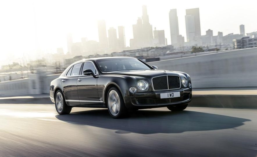 2015 Bentley Mulsanne Speed - Slide 5