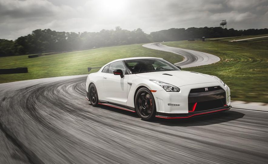 Aaron Robinson in the 2015 Nissan GT-R NISMO - Slide 2