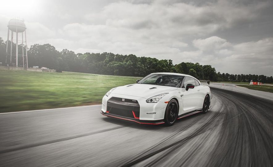 Aaron Robinson in the 2015 Nissan GT-R NISMO - Slide 3