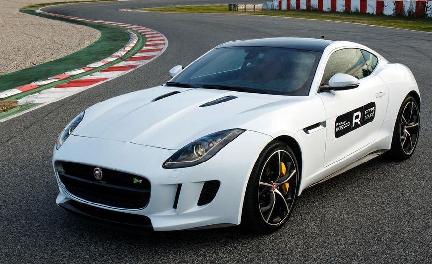 2015 Jaguar F-type R coupe - Slide 24