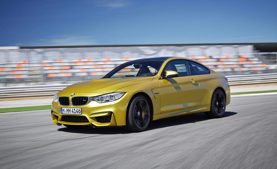 2015 BMW M4 coupe - Slide 1