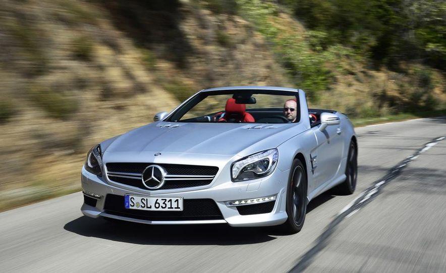 2014 Mercedes-Benz SL63 AMG - Slide 7
