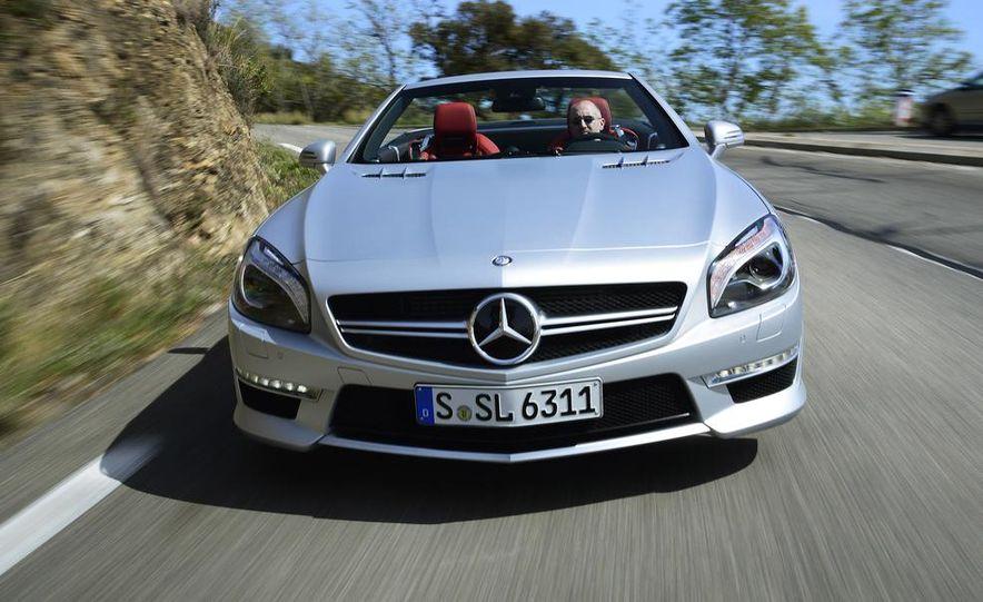 2014 Mercedes-Benz SL63 AMG - Slide 8