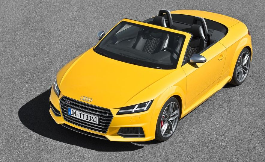2016 Audi TTS roadster - Slide 22