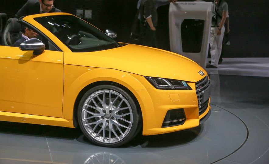2016 Audi TTS roadster - Slide 9