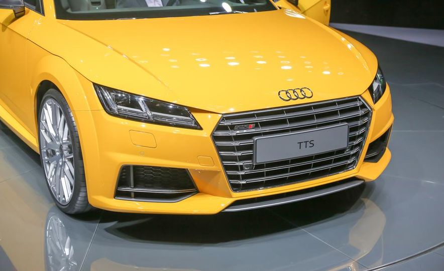 2016 Audi TTS roadster - Slide 11