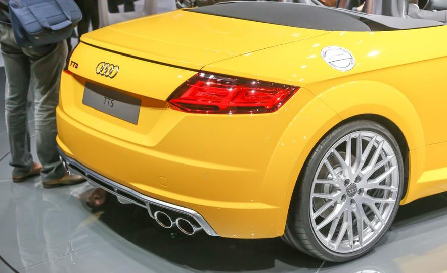 2016 Audi TTS roadster - Slide 13