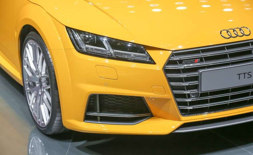 2016 Audi TTS roadster - Slide 14