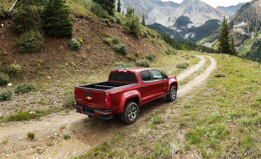 2015 Chevrolet Colorado Z71 - Slide 15
