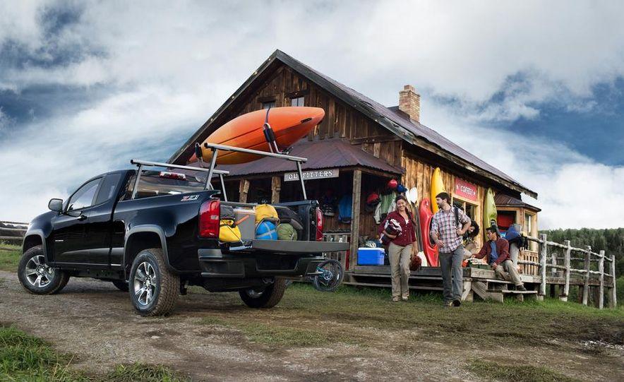 2015 Chevrolet Colorado Z71 - Slide 36