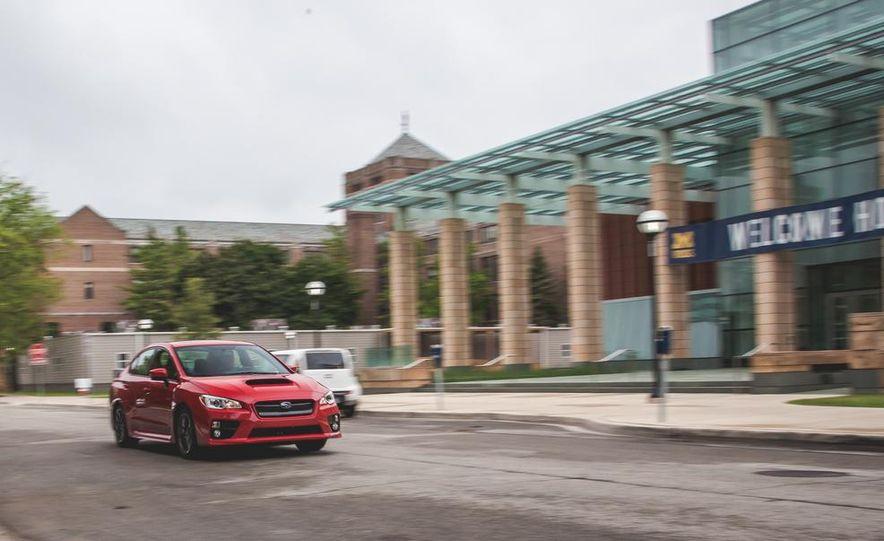 2015 Subaru WRX - Slide 4