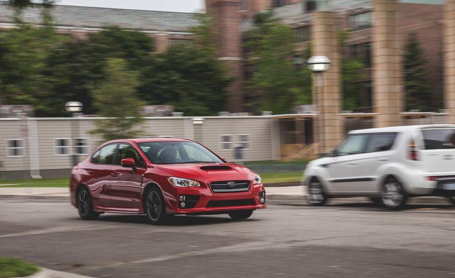 2015 Subaru WRX - Slide 5