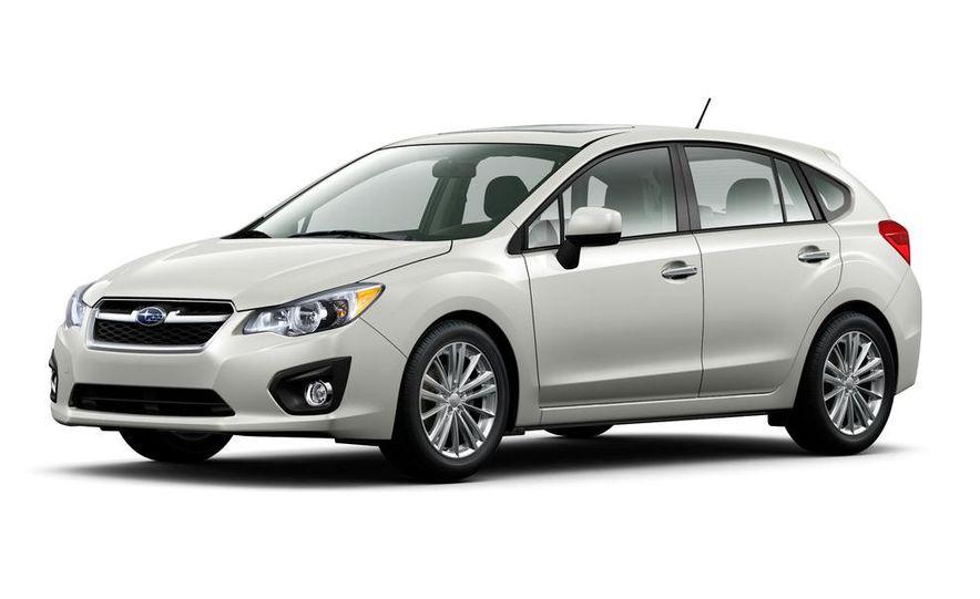 2015 Subaru Impreza hatchback and sedan - Slide 12