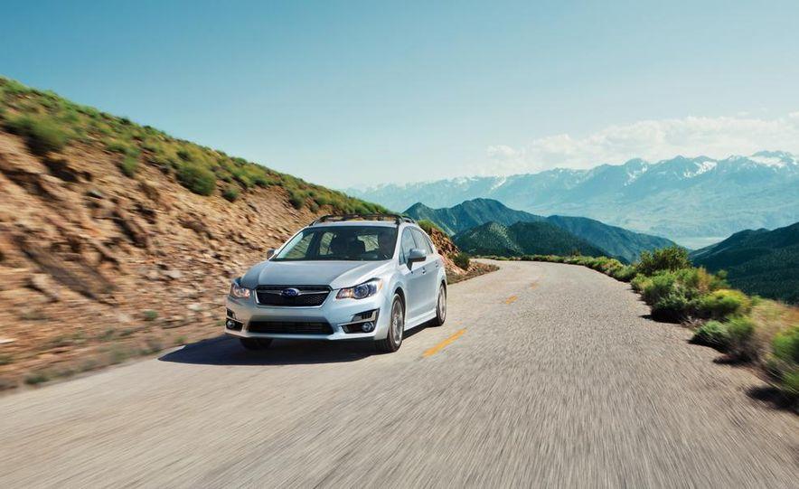 2015 Subaru Impreza hatchback and sedan - Slide 5