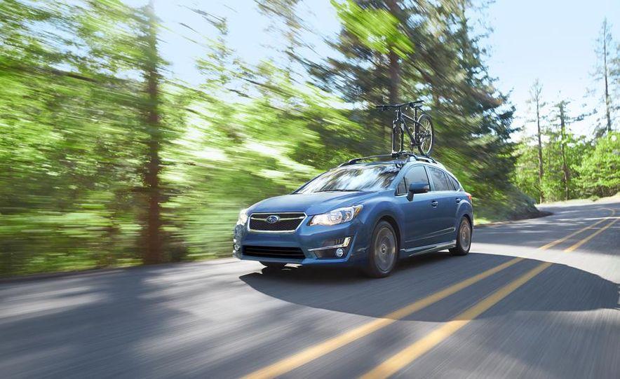 2015 Subaru Impreza hatchback and sedan - Slide 6