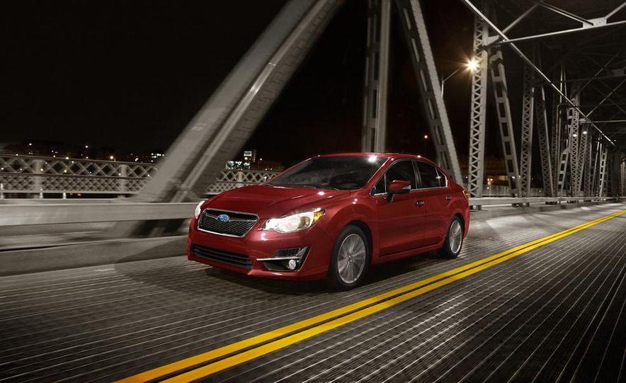 2015 Subaru Impreza hatchback and sedan - Slide 3