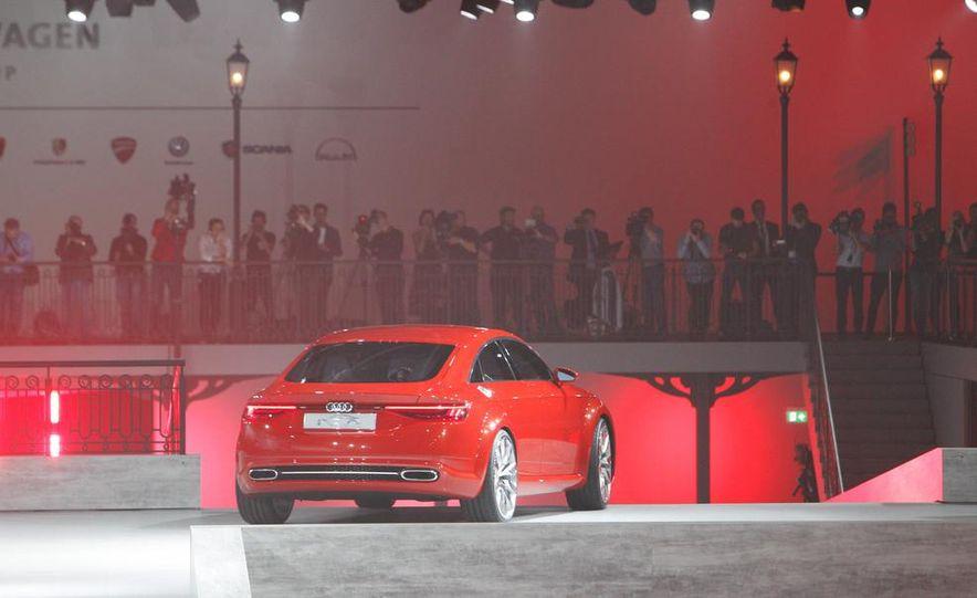 Audi TT Sportback concept - Slide 9