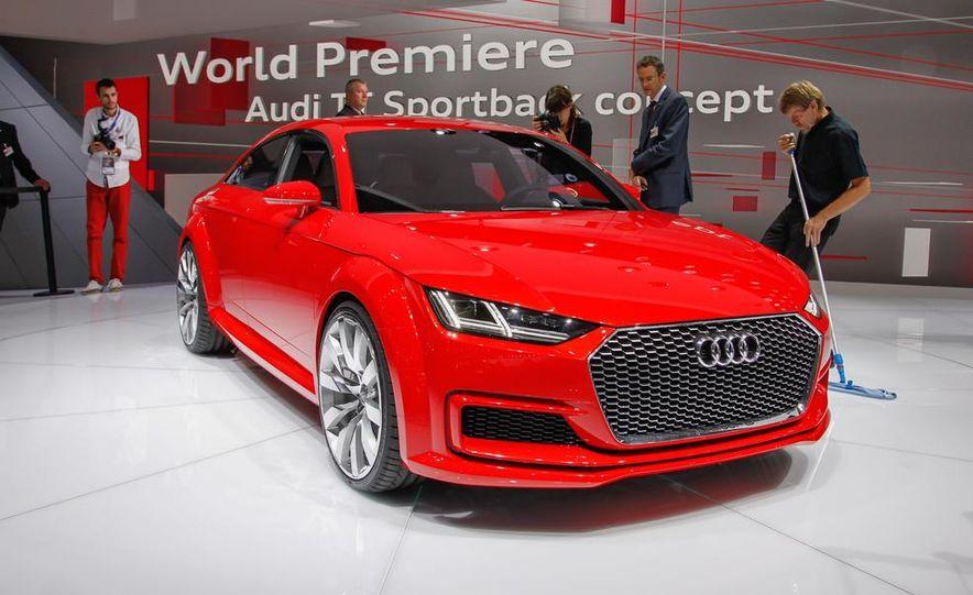 Audi TT Sportback concept - Slide 10