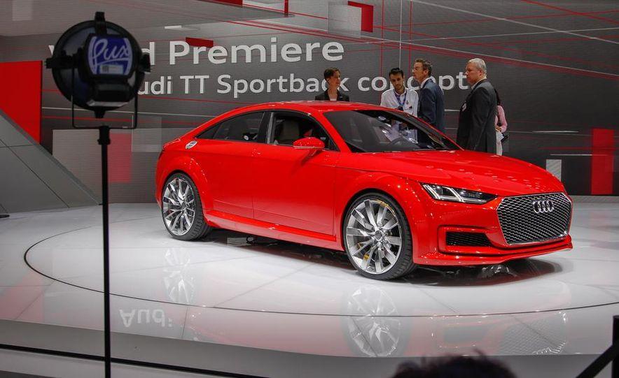 Audi TT Sportback concept - Slide 11
