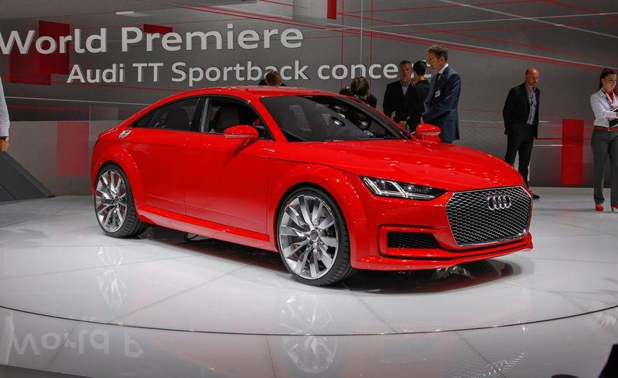 Audi TT Sportback concept - Slide 12