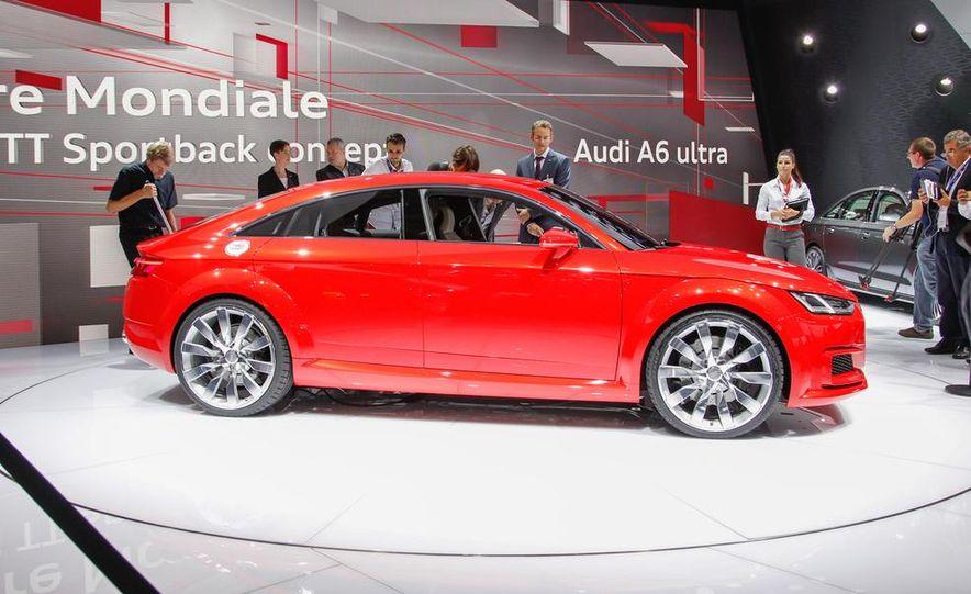 Audi TT Sportback concept - Slide 13