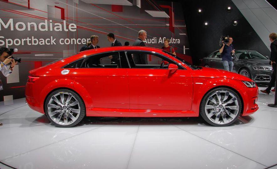 Audi TT Sportback concept - Slide 14