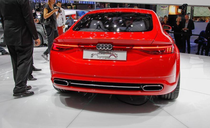 Audi TT Sportback concept - Slide 17