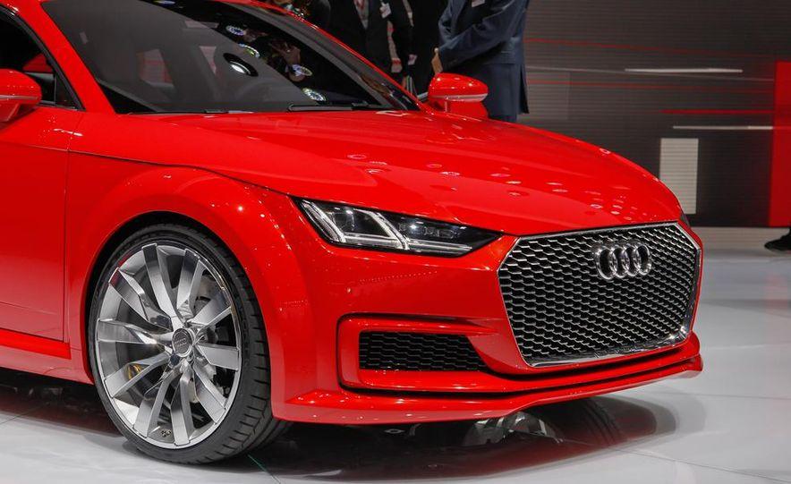Audi TT Sportback concept - Slide 18