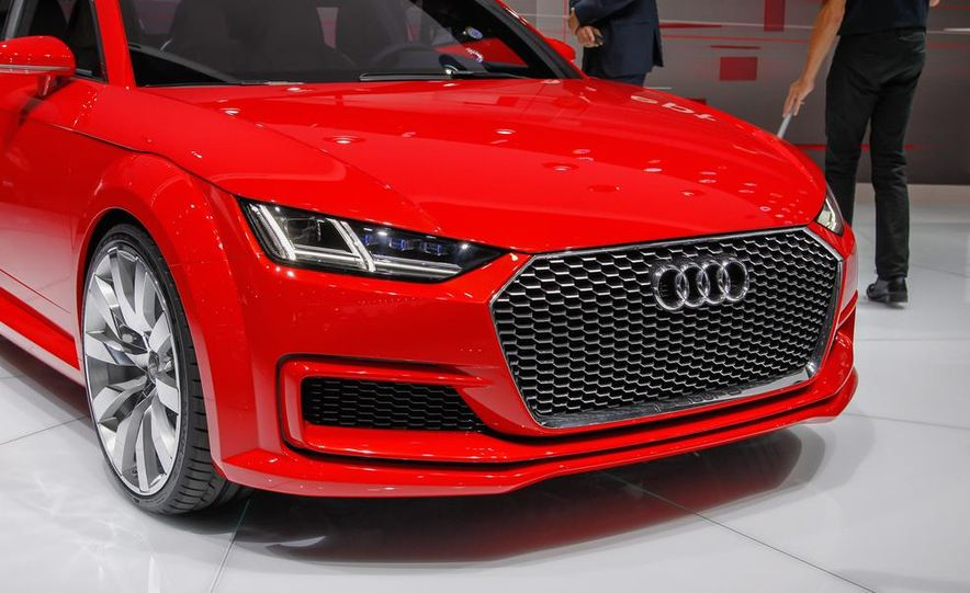 Audi TT Sportback concept - Slide 19