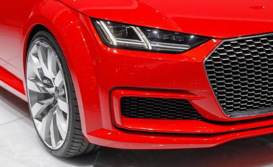 Audi TT Sportback concept - Slide 22