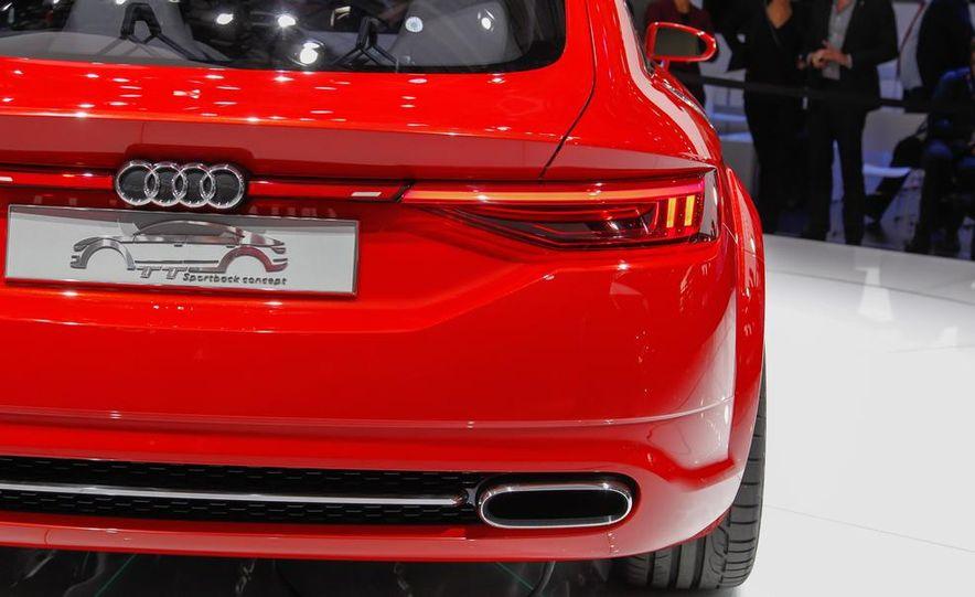 Audi TT Sportback concept - Slide 25