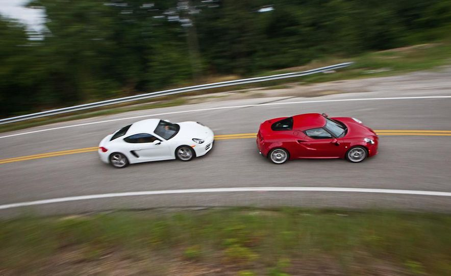 2015 Alfa Romeo 4C and 2014 Porsche Cayman - Slide 2