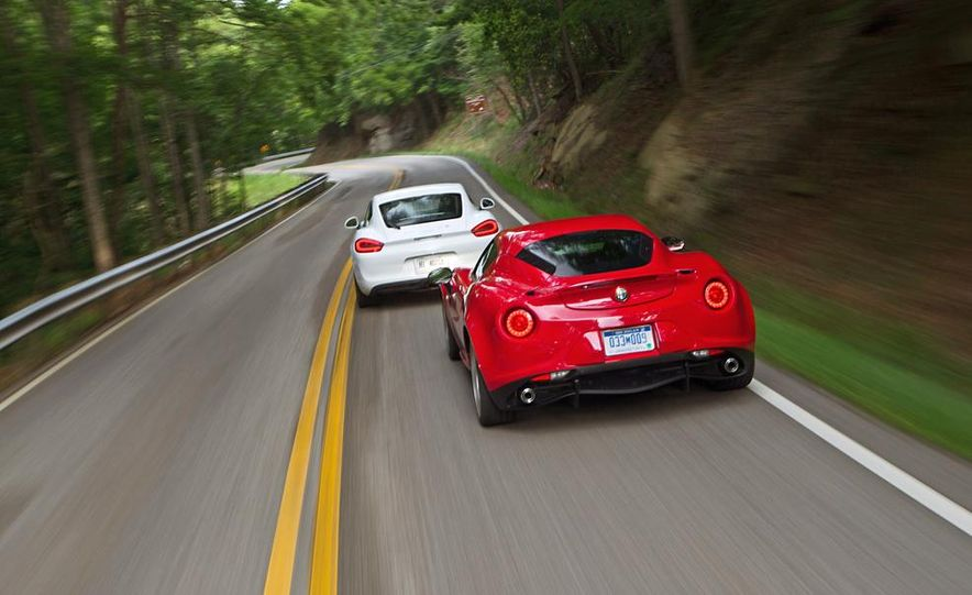2015 Alfa Romeo 4C and 2014 Porsche Cayman - Slide 3