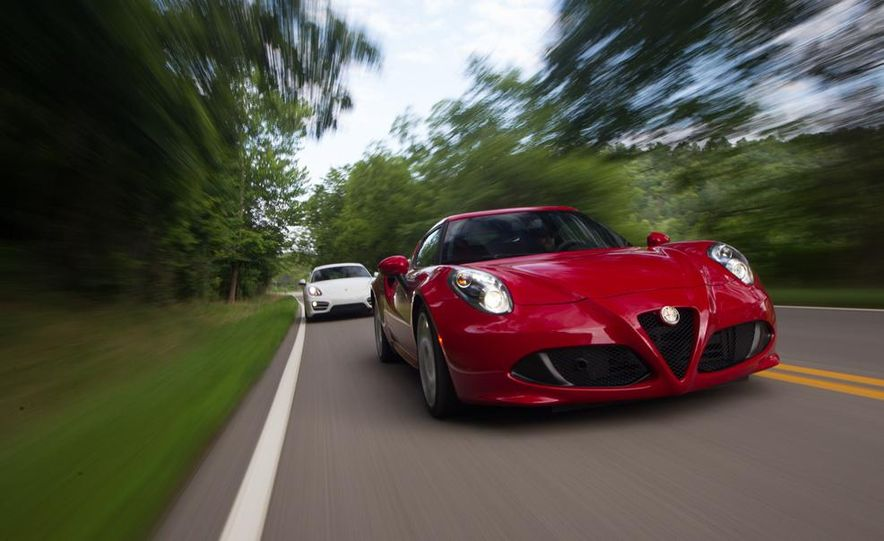 2015 Alfa Romeo 4C and 2014 Porsche Cayman - Slide 4