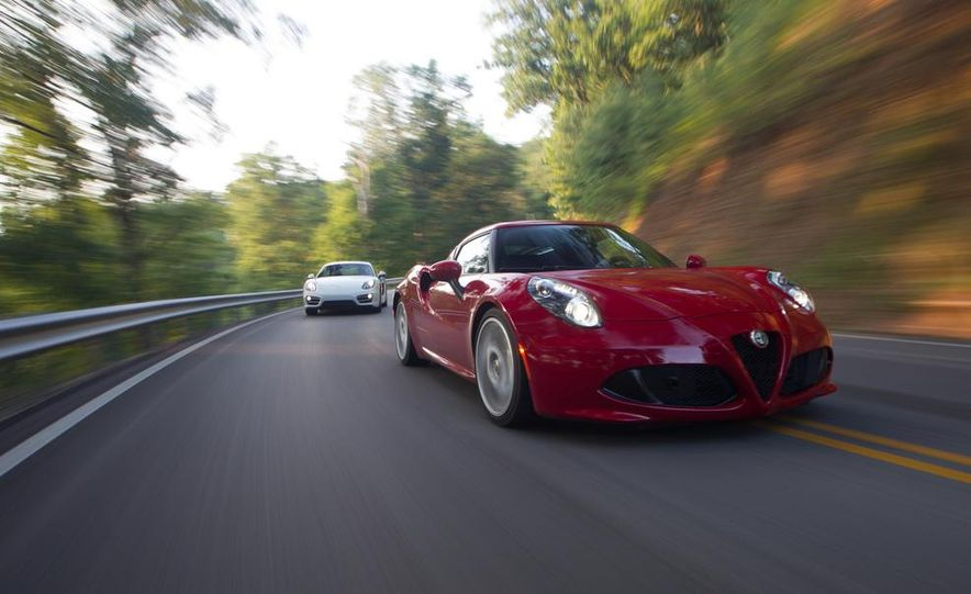 2015 Alfa Romeo 4C and 2014 Porsche Cayman - Slide 5