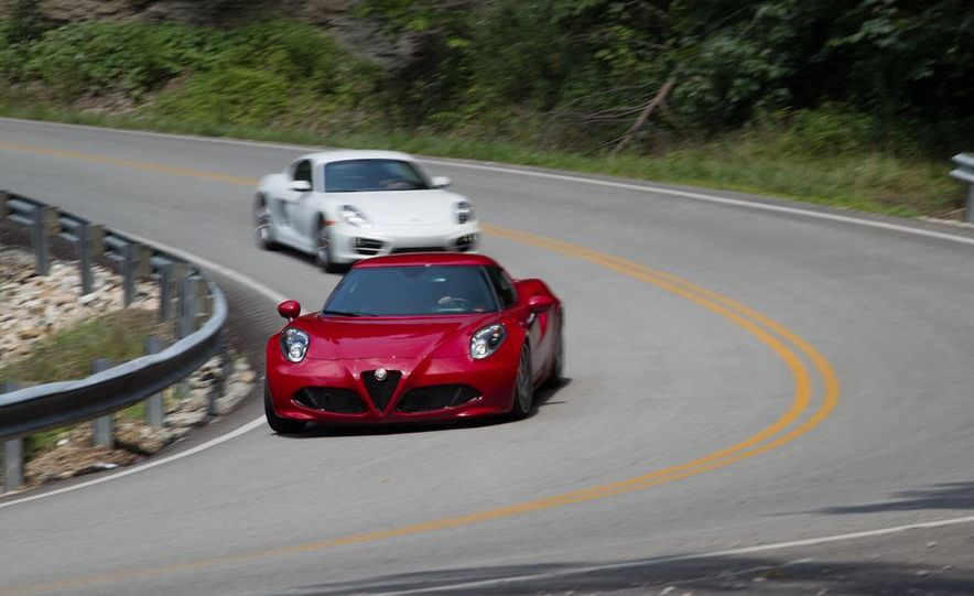 2015 Alfa Romeo 4C and 2014 Porsche Cayman - Slide 7