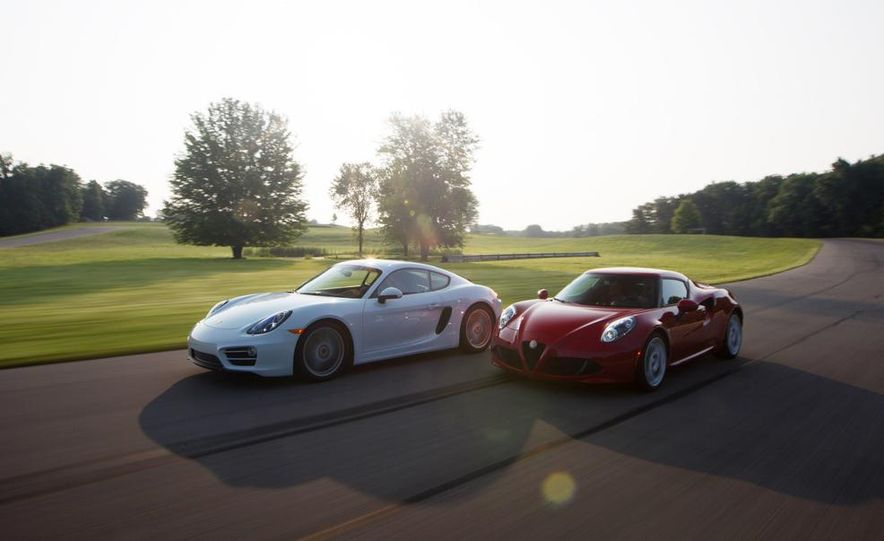 2015 Alfa Romeo 4C and 2014 Porsche Cayman - Slide 8