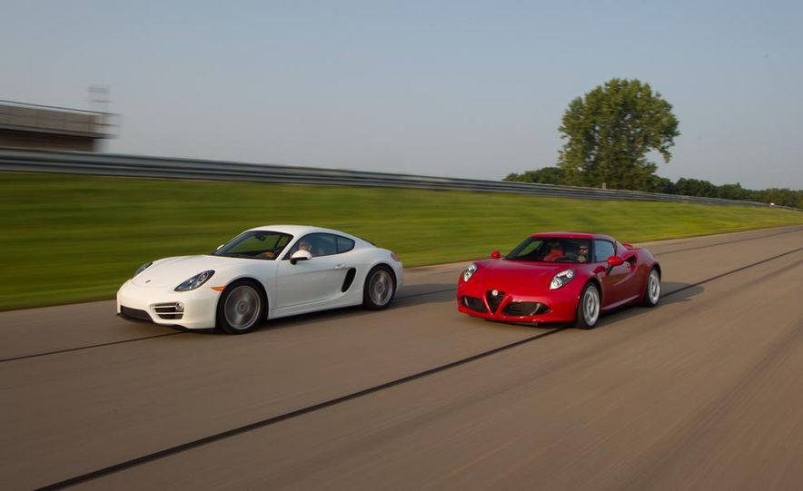 2015 Alfa Romeo 4C and 2014 Porsche Cayman - Slide 9
