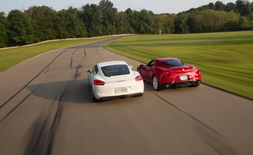 2015 Alfa Romeo 4C and 2014 Porsche Cayman - Slide 10
