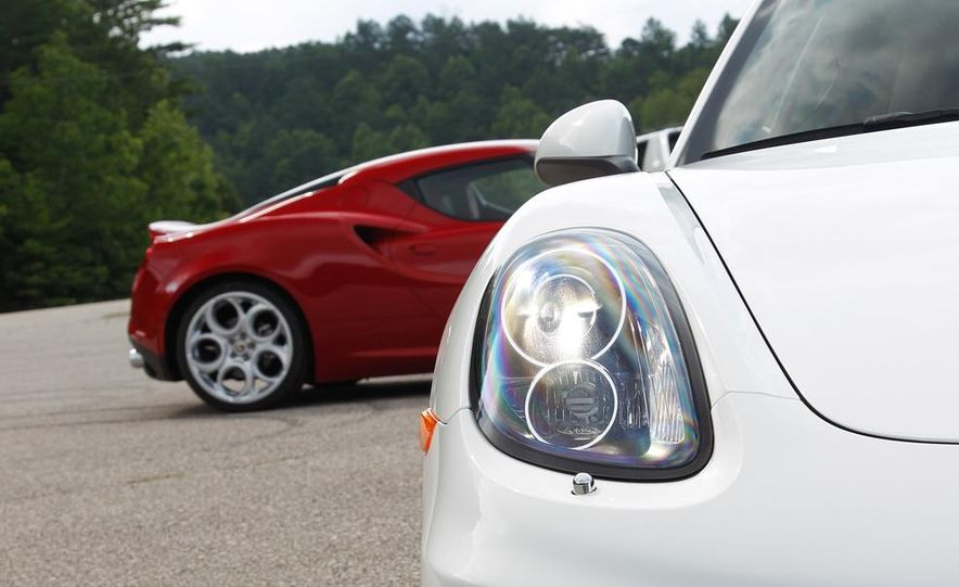 2015 Alfa Romeo 4C and 2014 Porsche Cayman - Slide 35