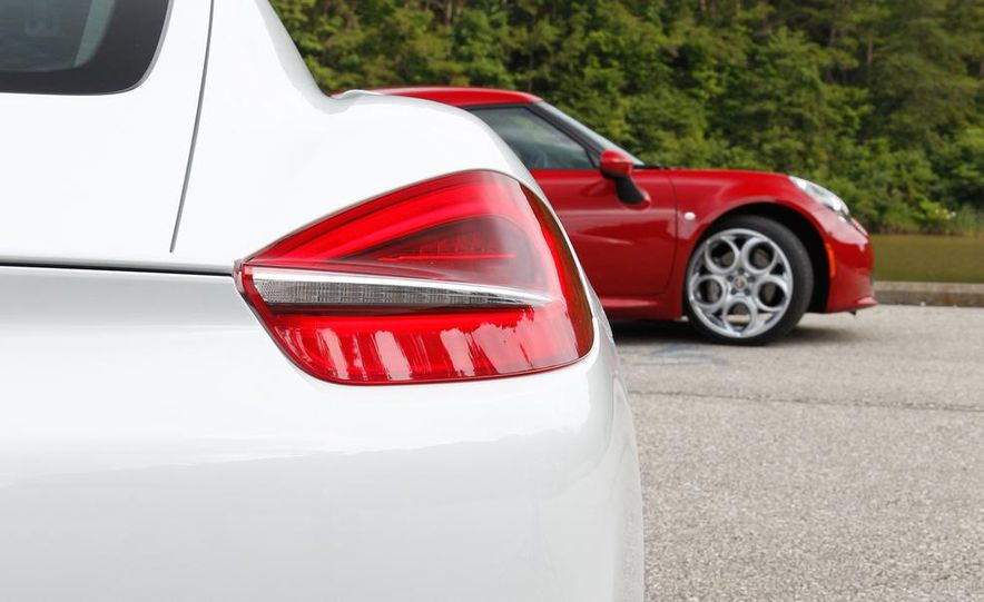 2015 Alfa Romeo 4C and 2014 Porsche Cayman - Slide 38