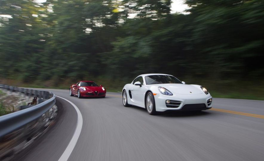 2015 Alfa Romeo 4C and 2014 Porsche Cayman - Slide 6