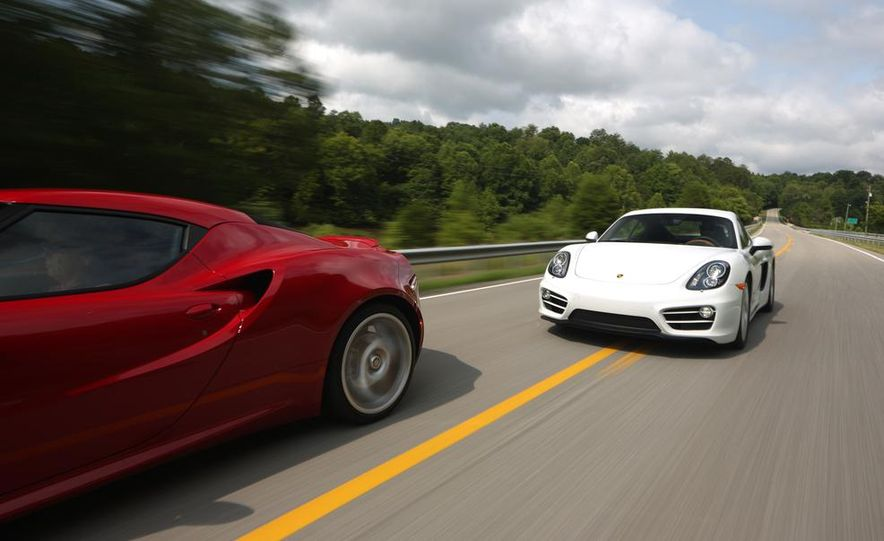 2015 Alfa Romeo 4C and 2014 Porsche Cayman - Slide 11