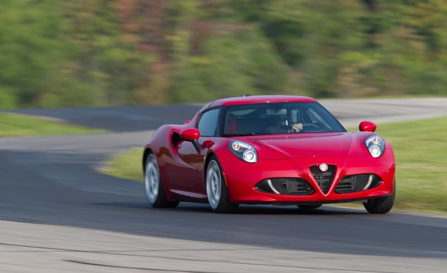 2015 Alfa Romeo 4C and 2014 Porsche Cayman - Slide 14
