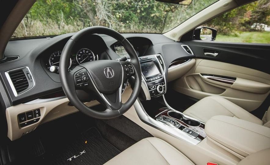 2015 Acura TLX 3.5L FWD - Slide 16
