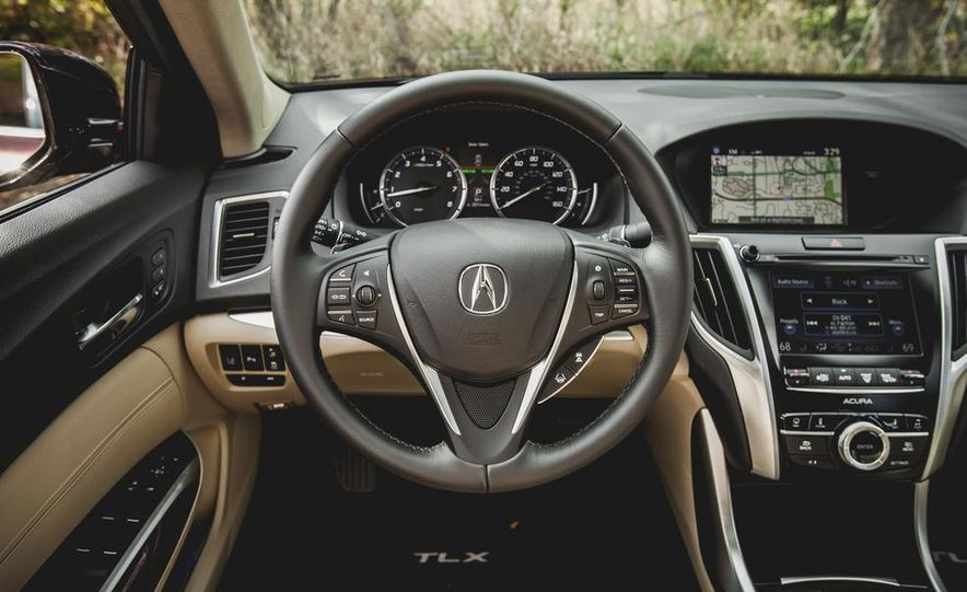 2015 Acura TLX 3.5L FWD - Slide 24