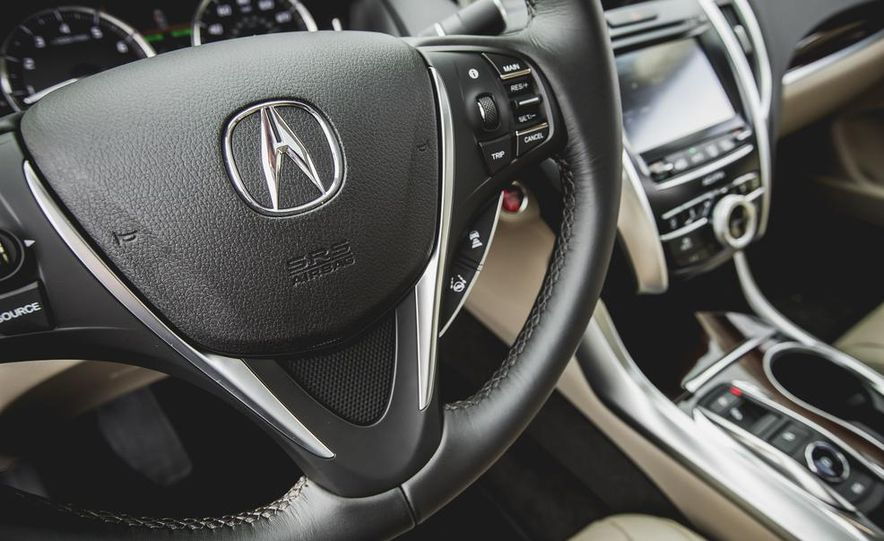 2015 Acura TLX 3.5L FWD - Slide 28