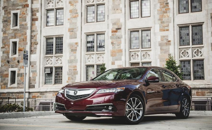 2015 Acura TLX 3.5L FWD - Slide 8