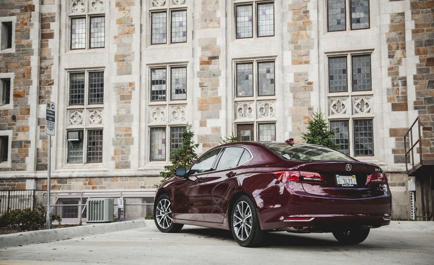 2015 Acura TLX 3.5L FWD - Slide 9